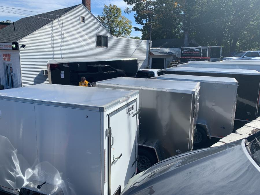 "Used Look trailers STLC5X8SI2DLX ST Cargo DLX/Flat Top/24"" Sloped V Nose 2020 