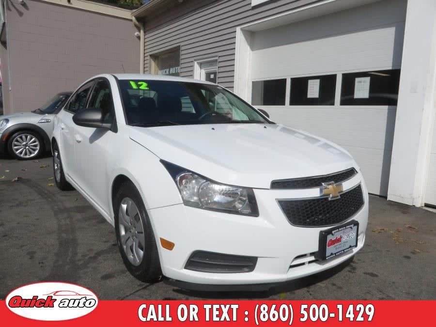Used 2012 Chevrolet Cruze in Bristol, Connecticut | Quick Auto LLC. Bristol, Connecticut