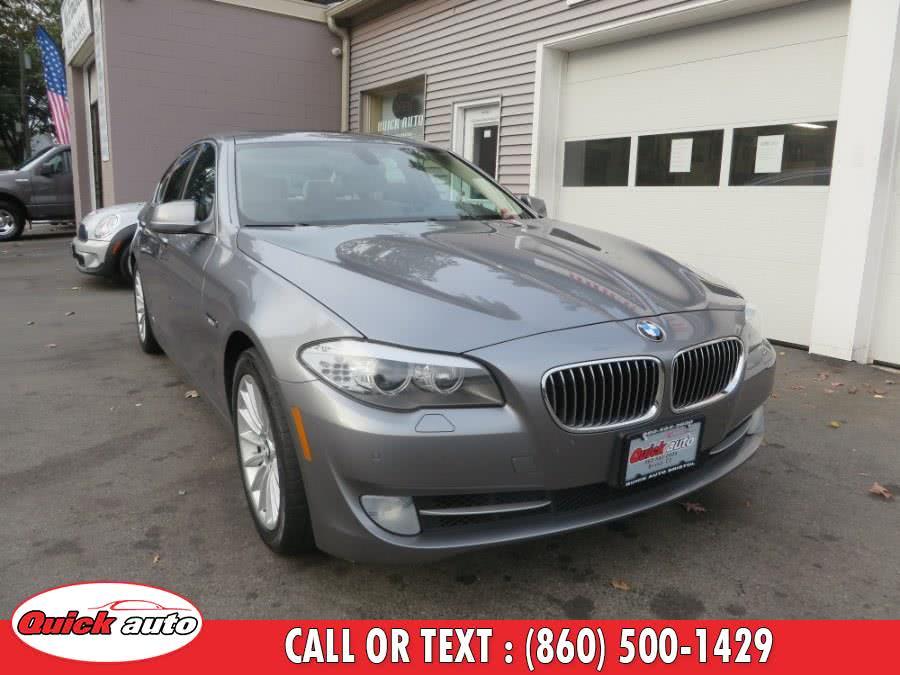 Used 2011 BMW 5 Series in Bristol, Connecticut | Quick Auto LLC. Bristol, Connecticut