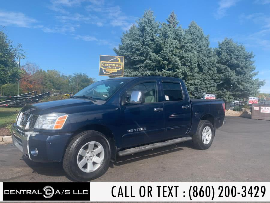 Used Nissan Titan 4WD Crew Cab LE 2007 | Central A/S LLC. East Windsor, Connecticut