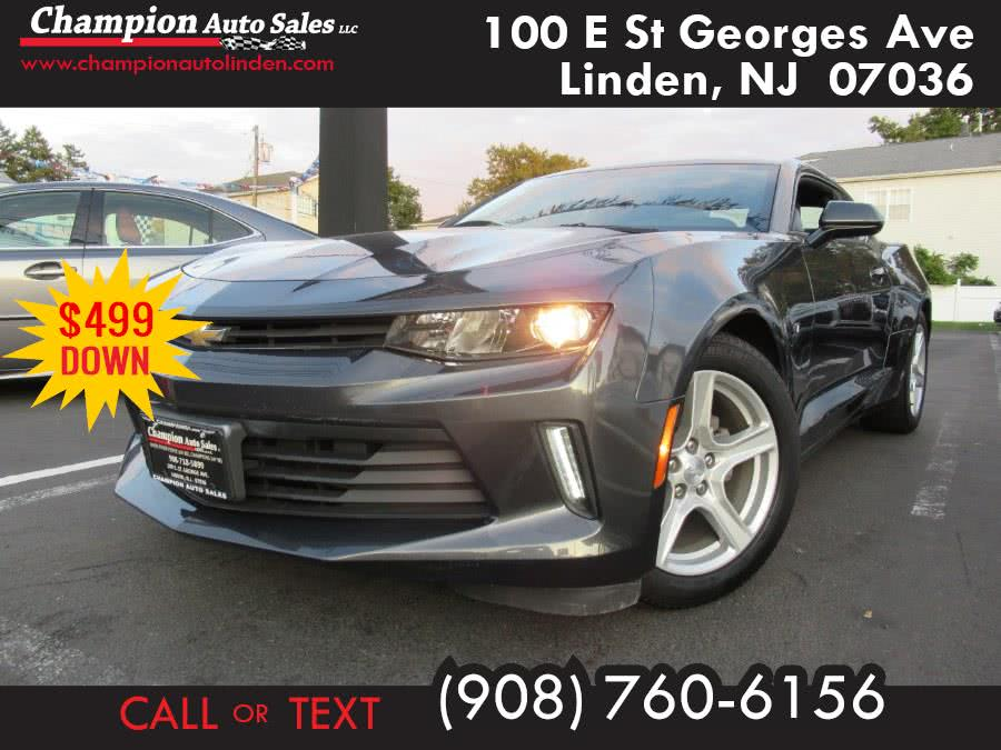 Used 2016 Chevrolet Camaro in Linden, New Jersey | Champion Used Auto Sales. Linden, New Jersey