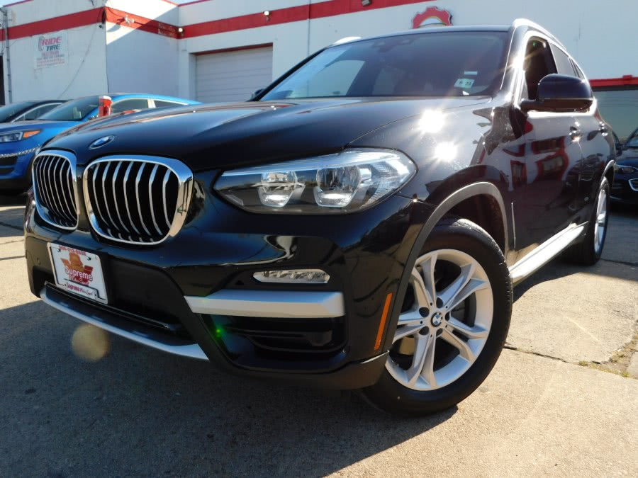 Used BMW X3 xDrive30i Sports Activity Vehicle 2019 | Supreme Motor Sport. Elizabeth, New Jersey