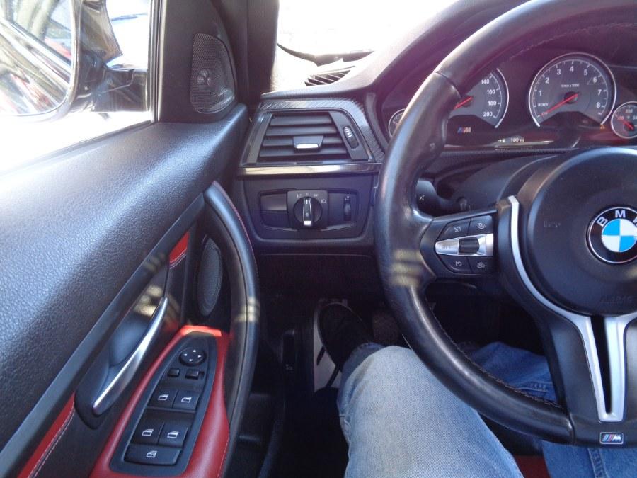 2015 BMW M3 sedan 6 Speed Manual HK Premium Sound Navigation Camera Heads-Up Display Satellite BSM, available for sale in Jamaica, New York   Top Speed Motors LLC. Jamaica, New York