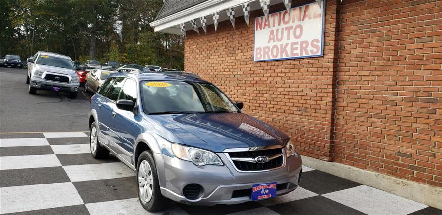 Used Subaru Outback Wagon Manual 2008 | National Auto Brokers, Inc.. Waterbury, Connecticut