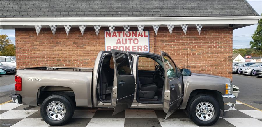 2012 Chevrolet Silverado 1500 4WD Crew Cab LS, available for sale in Waterbury, Connecticut | National Auto Brokers, Inc.. Waterbury, Connecticut