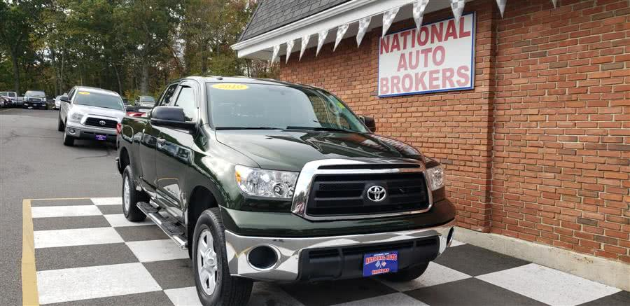 Used Toyota Tundra 4WD Truck Double Cab 4.6L 2010 | National Auto Brokers, Inc.. Waterbury, Connecticut