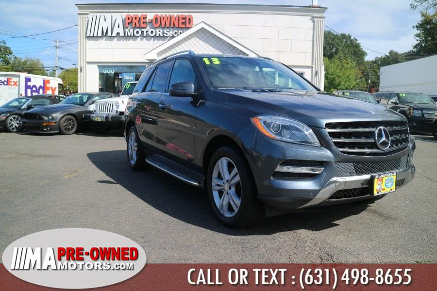 Used Mercedes-Benz M-Class 4MATIC 4dr ML350 2013 | M & A Motors. Huntington, New York