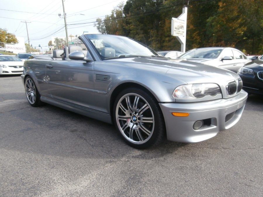 2004 BMW 3 Series M3 2dr Convertible, available for sale in Waterbury, Connecticut | Jim Juliani Motors. Waterbury, Connecticut