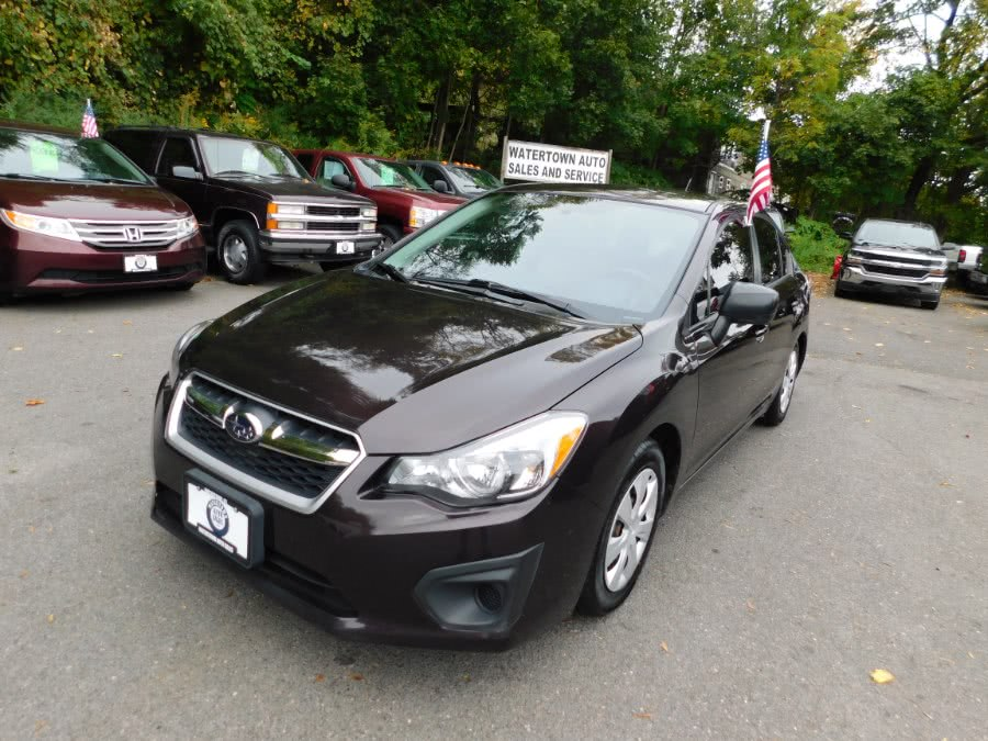Used 2013 Subaru Impreza Sedan in Watertown, Connecticut | Watertown Auto Sales. Watertown, Connecticut