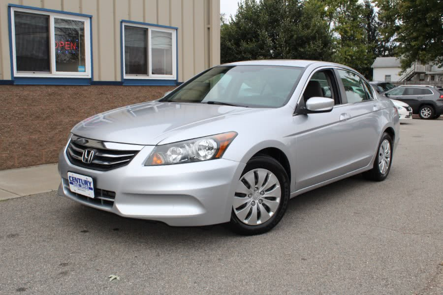 Used 2012 Honda Accord Sdn in East Windsor, Connecticut   Century Auto And Truck. East Windsor, Connecticut