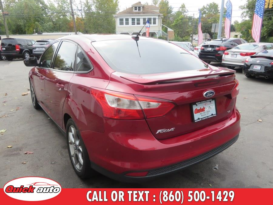 2014 Ford Focus 4dr Sdn SE, available for sale in Bristol, Connecticut | Quick Auto LLC. Bristol, Connecticut