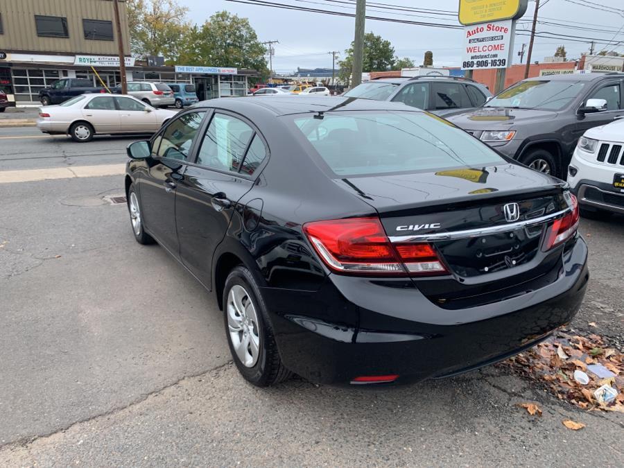 2015 Honda Civic Sedan 4dr CVT LX, available for sale in West Hartford, Connecticut | Auto Store. West Hartford, Connecticut