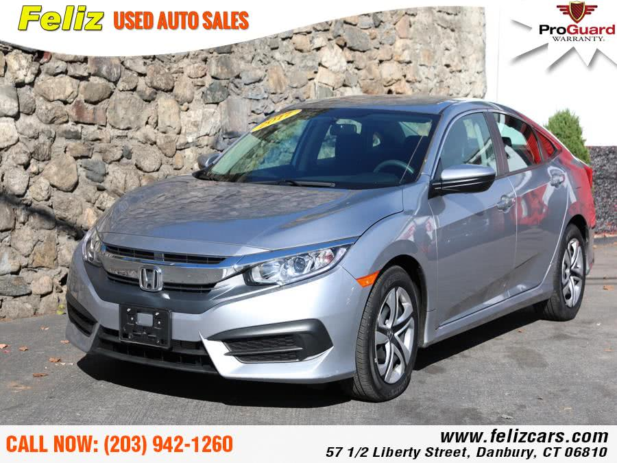 Used 2017 Honda Civic Sedan in Danbury, Connecticut | Feliz Used Auto Sales. Danbury, Connecticut