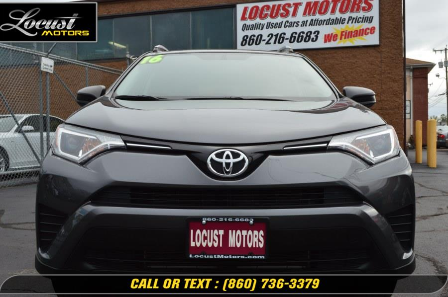 2016 Toyota RAV4 AWD 4dr LE (Natl), available for sale in Hartford, Connecticut | Locust Motors LLC. Hartford, Connecticut