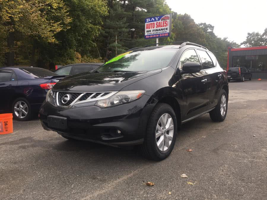 2012 Nissan Murano AWD 4dr LE, available for sale in Springfield, Massachusetts | Bay Auto Sales Corp. Springfield, Massachusetts