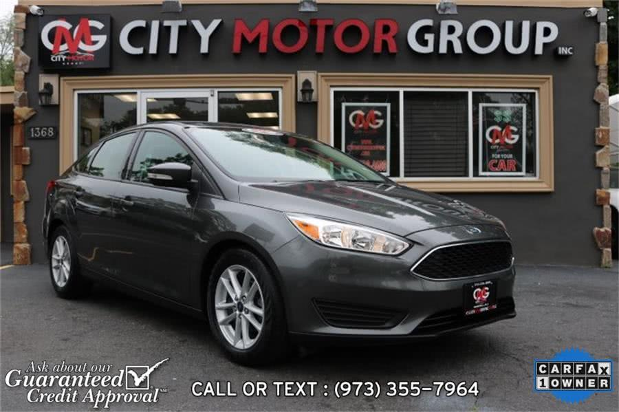 Used Ford Focus SE 2017 | City Motor Group Inc.. Haskell, New Jersey