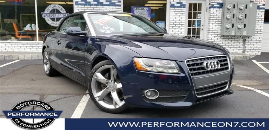 Used 2010 Audi A5 in Wilton, Connecticut | Performance Motor Cars. Wilton, Connecticut