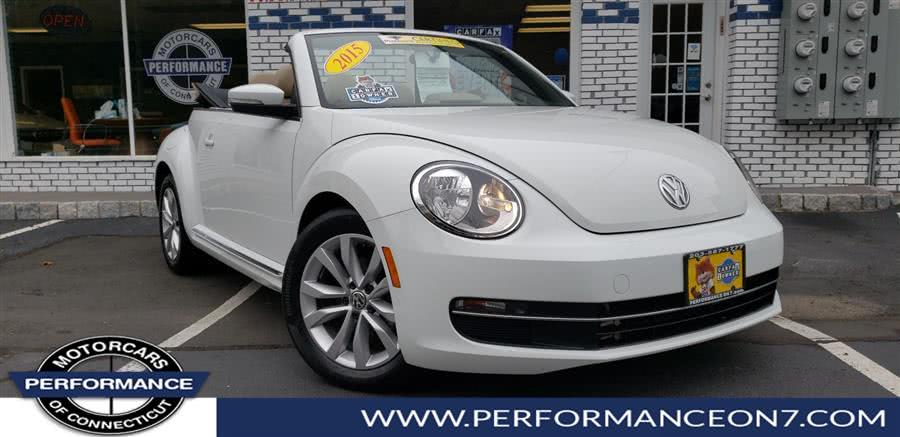Used 2015 Volkswagen Beetle Convertible in Wilton, Connecticut | Performance Motor Cars. Wilton, Connecticut