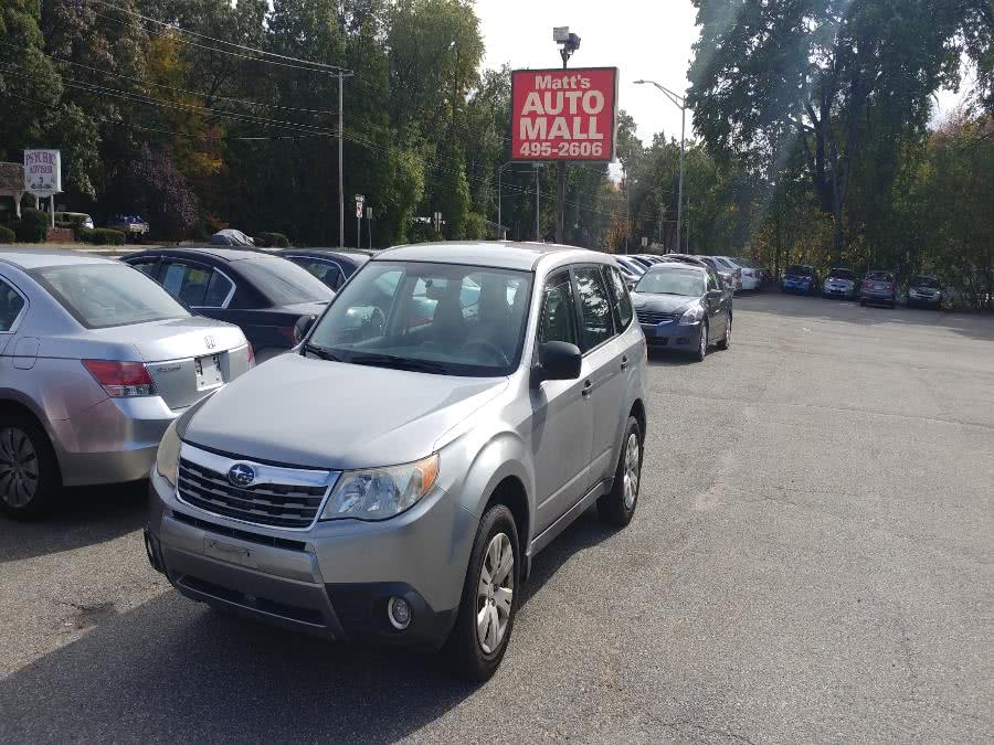 Used 2009 Subaru Forester in Chicopee, Massachusetts | Matts Auto Mall LLC. Chicopee, Massachusetts