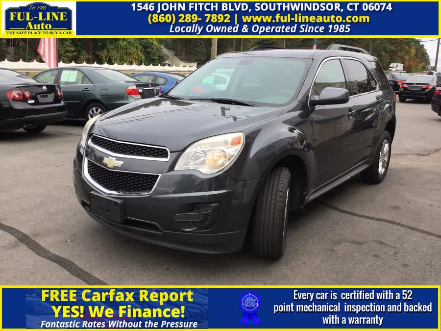 Used Chevrolet Equinox FWD 4dr LT w/1LT 2010 | Ful-line Auto LLC. South Windsor , Connecticut