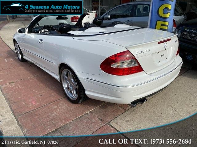 2006 Mercedes-benz Clk CLK 55 AMG®, available for sale in Garfield, New Jersey | 4 Seasons Auto Motors. Garfield, New Jersey