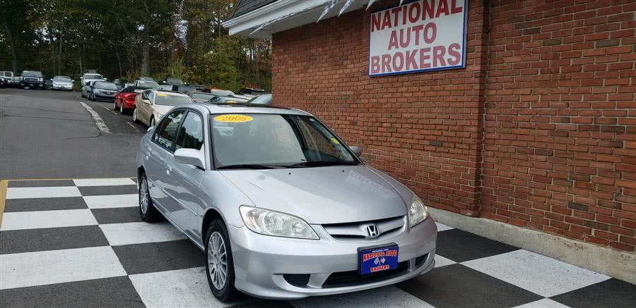 Used Honda Civic Sdn EX 2005 | National Auto Brokers, Inc.. Waterbury, Connecticut