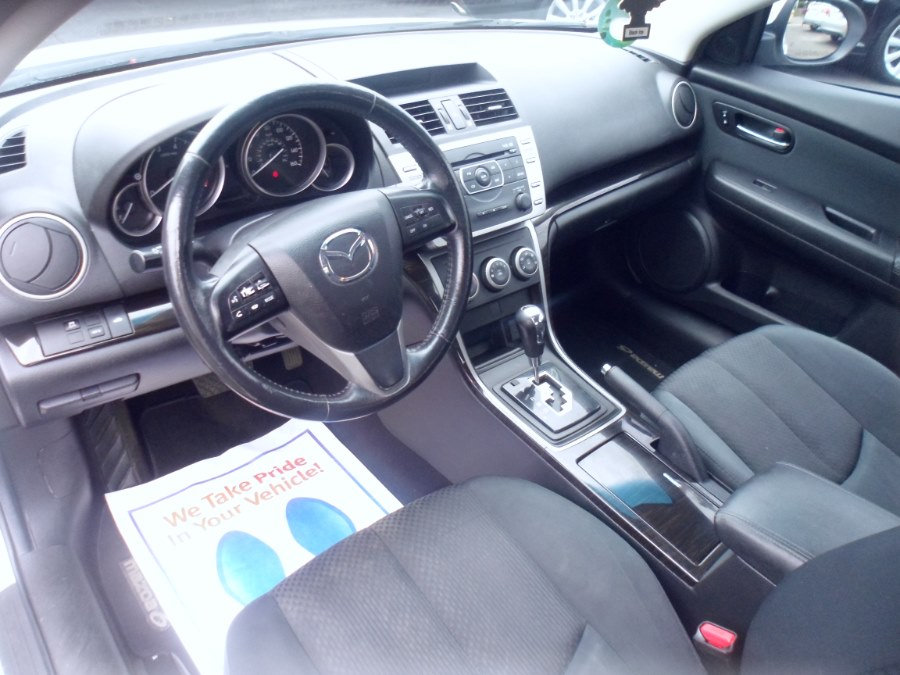 2011 Mazda Mazda6 4dr Sdn Auto i Touring Plus, available for sale in Bridgeport, Connecticut | Hurd Auto Sales. Bridgeport, Connecticut