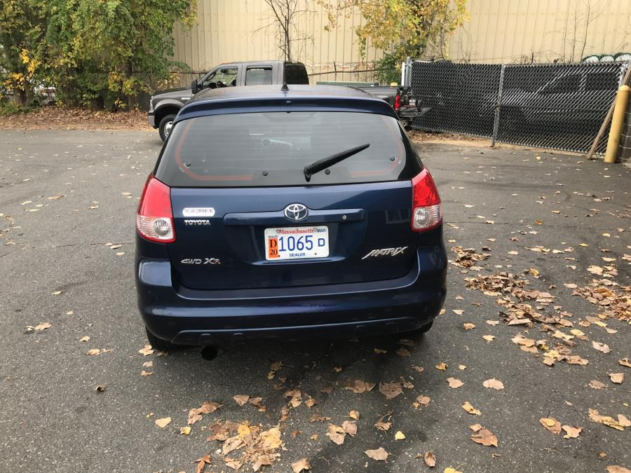 2003 Toyota Matrix 5dr Wgn XR Auto AWD (Natl), available for sale in Springfield, Massachusetts | The Car Company. Springfield, Massachusetts