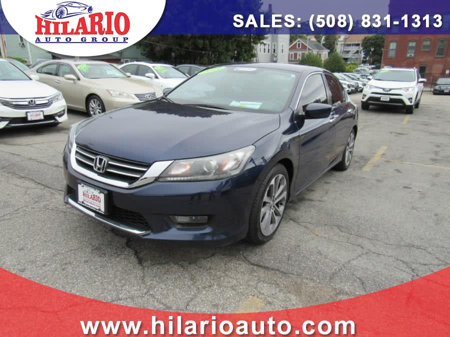 Used 2014 Honda Accord Sdn in Worcester, Massachusetts | Hilario's Auto Sales Inc.. Worcester, Massachusetts