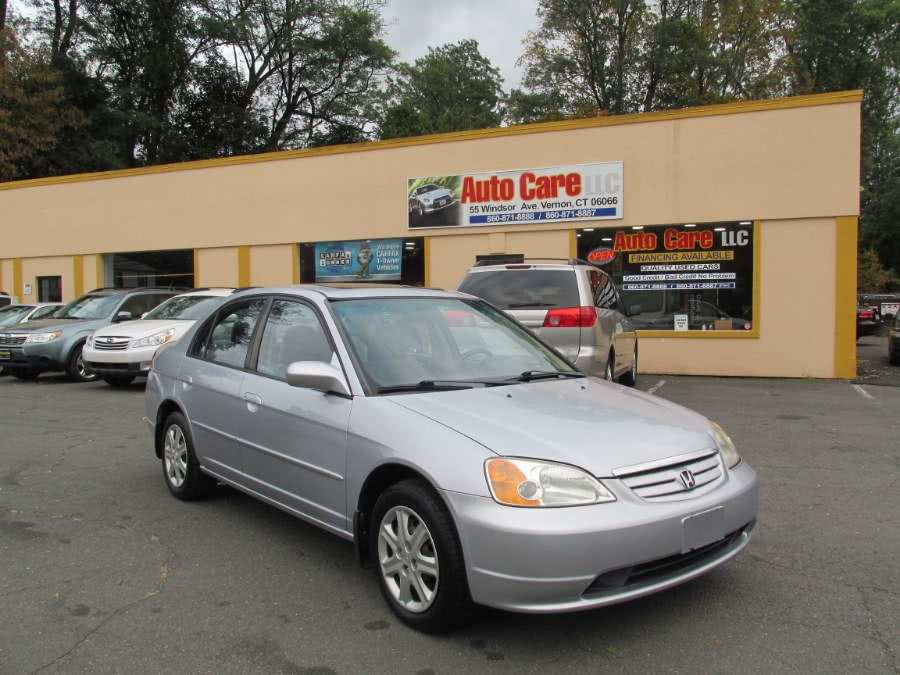 Used 2003 Honda Civic in Vernon , Connecticut | Auto Care Motors. Vernon , Connecticut