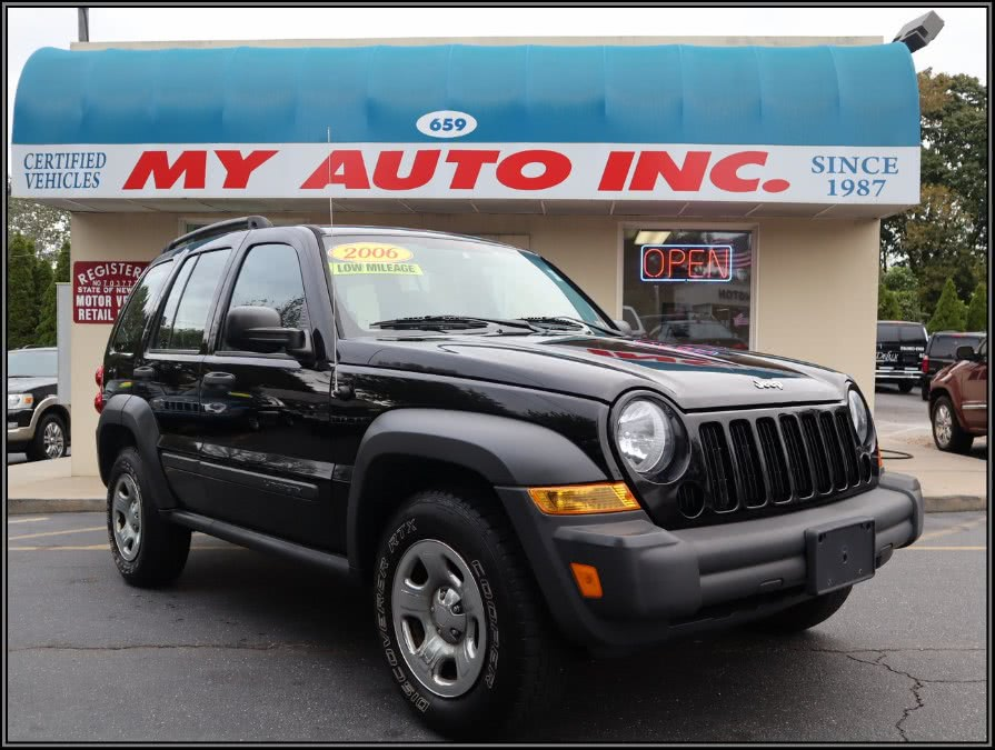 2006 Jeep Liberty 4dr Sport 4WD, available for sale in Huntington Station, New York | My Auto Inc.. Huntington Station, New York