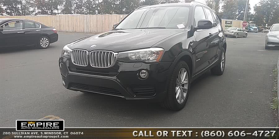 Used 2015 BMW X3 in S.Windsor, Connecticut | Empire Auto Wholesalers. S.Windsor, Connecticut