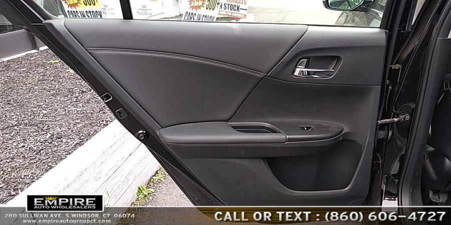 Used Honda Accord Sedan 4dr I4 CVT EX-L w/Navi 2015 | Empire Auto Wholesalers. S.Windsor, Connecticut