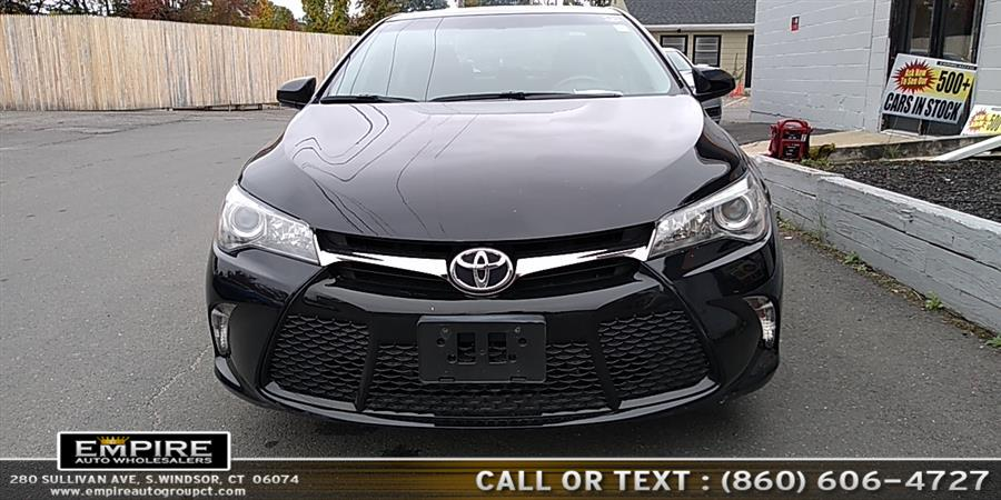 2017 Toyota Camry SE Auto (Natl), available for sale in S.Windsor, Connecticut | Empire Auto Wholesalers. S.Windsor, Connecticut