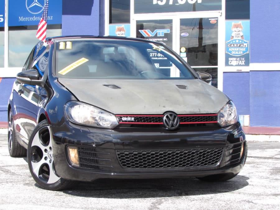 Used Volkswagen GTI 2dr HB Man Autobahn 2011 | VIP Auto Enterprise, Inc. Orlando, Florida