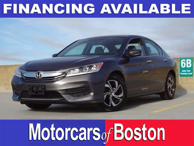 2017 Honda Accord Sedan LX CVT, available for sale in Newton, Massachusetts | Motorcars of Boston. Newton, Massachusetts