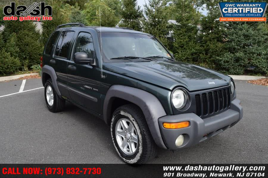 Used Jeep Liberty 4dr Sport 4WD 2003 | Dash Auto Gallery Inc.. Newark, New Jersey