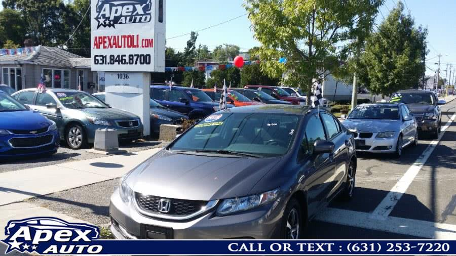 Used 2015 Honda Civic Sedan in Selden, New York | Apex Auto. Selden, New York