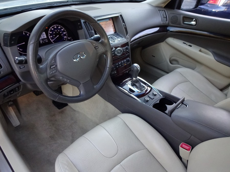 2013 Infiniti G37 Sedan 4dr x AWD, available for sale in Islip, New York | Mint Auto Sales. Islip, New York