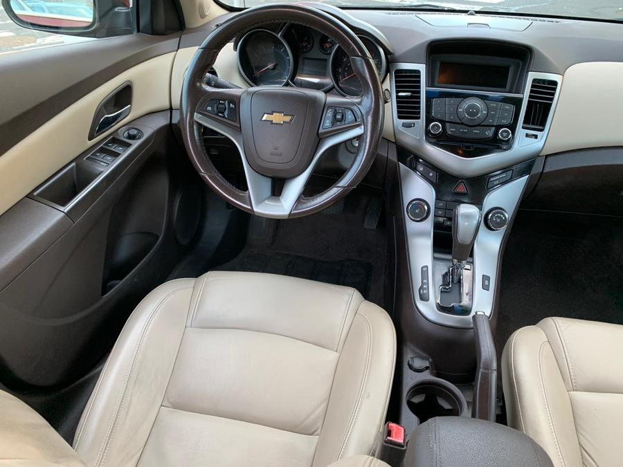 2012 Chevrolet Cruze 4dr Sdn LT w/2LT, available for sale in New Britain, Connecticut | Central Auto Sales & Service. New Britain, Connecticut