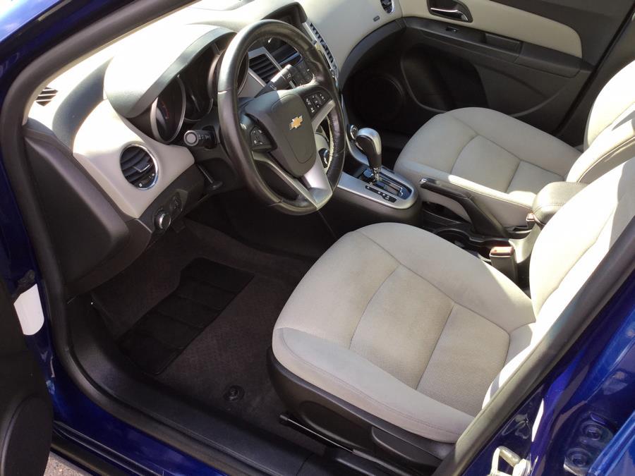 2012 Chevrolet Cruze 4dr Sdn LT w/1LT, available for sale in Plantsville, Connecticut   L&S Automotive LLC. Plantsville, Connecticut