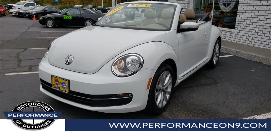 2015 Volkswagen Beetle Convertible 2dr DSG 2.0L TDI w/Sound/Nav *Ltd Avail*, available for sale in Wappingers Falls, New York | Performance Motorcars Inc. Wappingers Falls, New York