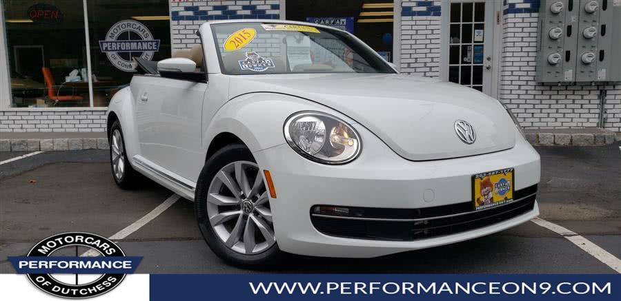 Used 2015 Volkswagen Beetle Convertible in Wappingers Falls, New York | Performance Motorcars Inc. Wappingers Falls, New York