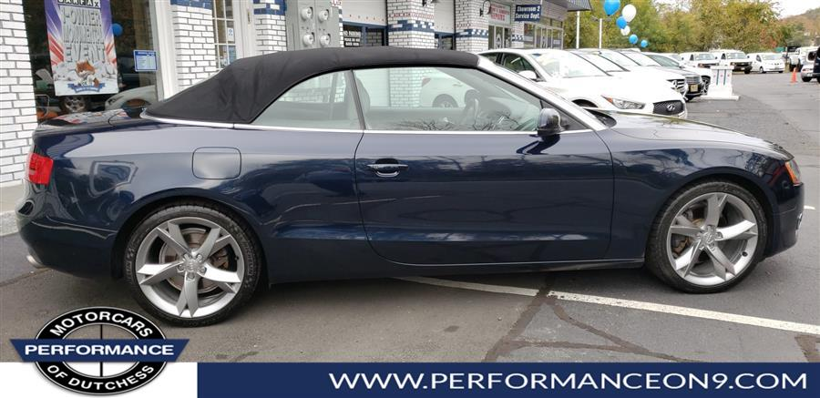 Used Audi A5 2dr Cabriolet CVT FrontTrak Premium Plus 2010 | Performance Motorcars Inc. Wappingers Falls, New York
