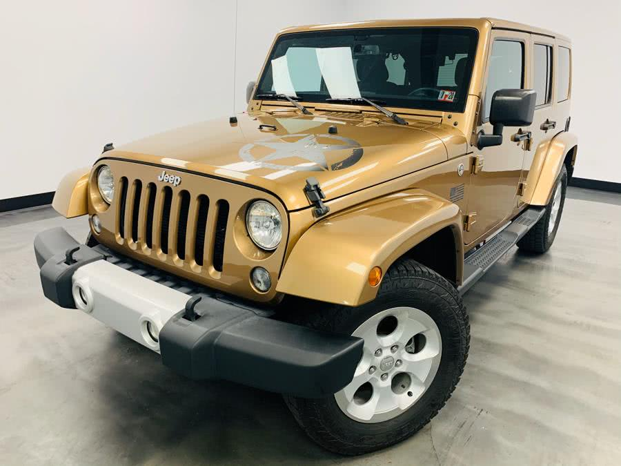 Used Jeep Wrangler Unlimited 4WD 4dr Altitude 2015 | East Coast Auto Group. Linden, New Jersey