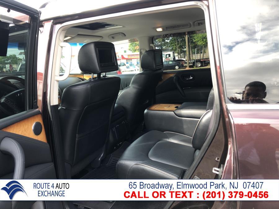Used Infiniti QX56 4WD 4dr 7-passenger 2012 | Route 4 Auto Exchange. Elmwood Park, New Jersey