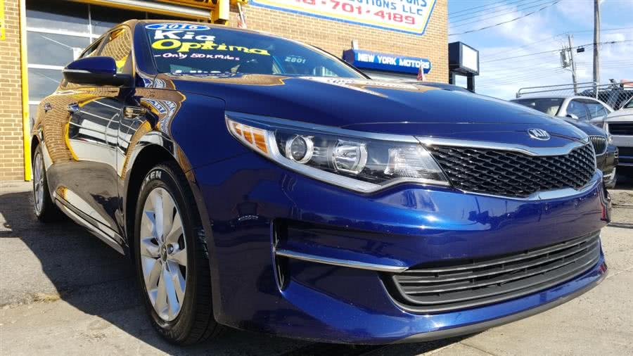 Used 2016 Kia Optima in Bronx, New York | New York Motors Group Solutions LLC. Bronx, New York