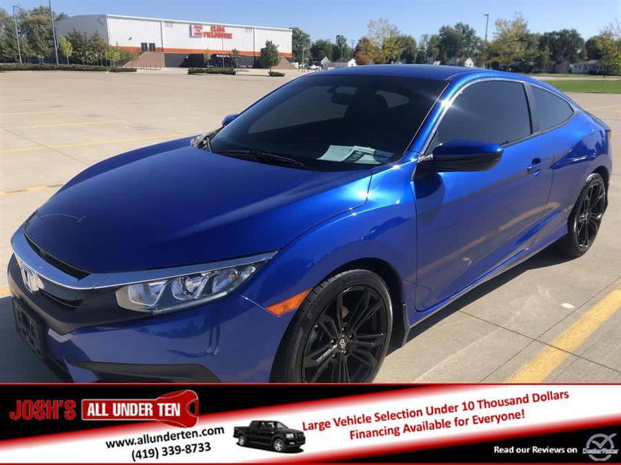 Used 2016 Honda Civic Coupe in Elida, Ohio | Josh's All Under Ten LLC. Elida, Ohio