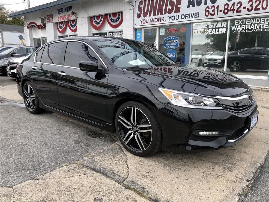 Used 2017 Honda Accord Sedan in Amityville, New York | Sunrise Auto Outlet. Amityville, New York