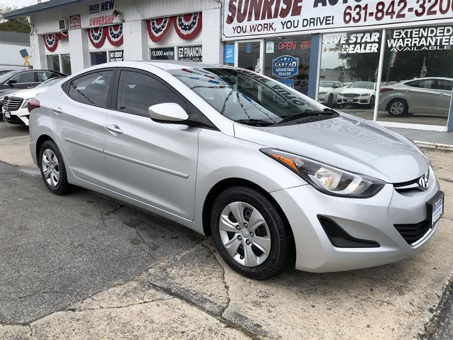 Used 2016 Hyundai Elantra in Amityville, New York | Sunrise Auto Outlet. Amityville, New York